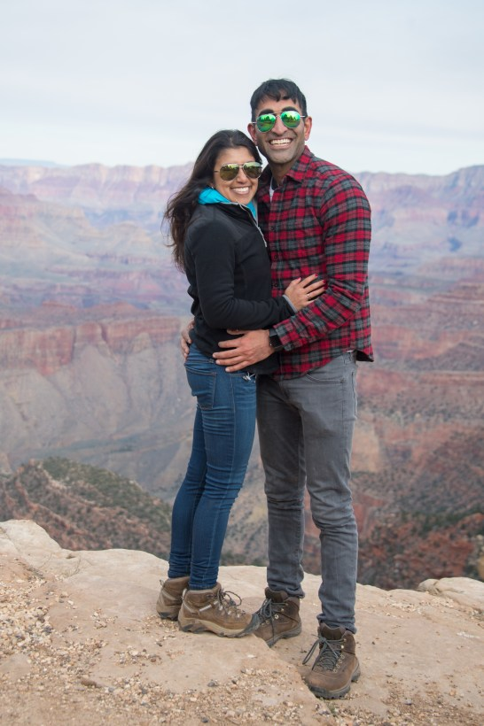 2-25-17-vishal-duck-on-a-rock-grand-canyon-south-rim-engagement-terri-attridge-8960