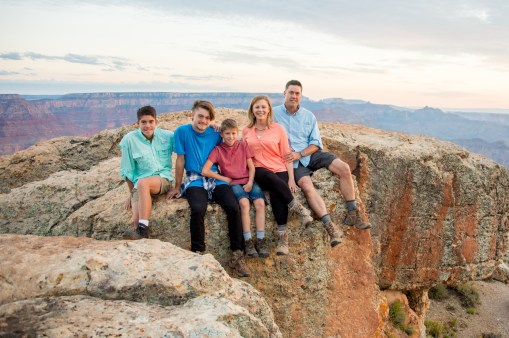 7.29.17 Family Portraits at Grand Canyon South Rim Lipan Point Terri Attridge-131