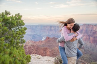 8.4.17 Jason and Alli - Surprise Engagement at Lipan Point Grand Canyon South Rim Terri Attridge-83