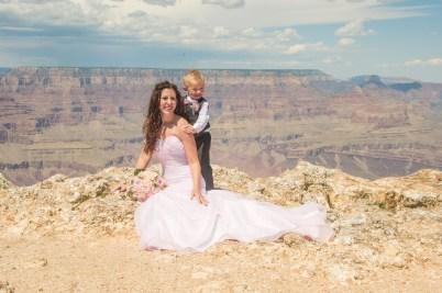 9.1.17 Candi and Brandon Lipan Point Grand Canyon Terri Attridge-11