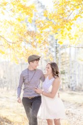 Flagstaff Aspens LBGT friendly engagement photos