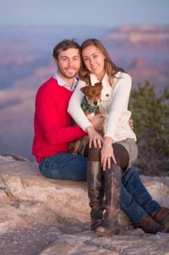 11.23.17 Jenna and Bobby Grand Canyon Engagement Photos Hopi Point Photography by Terri Attridge-160