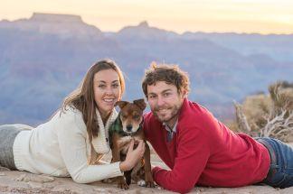 11.23.17 Jenna and Bobby Grand Canyon Engagement Photos Hopi Point Photography by Terri Attridge-55