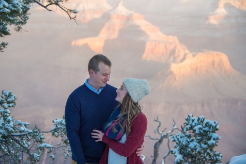 1.21.18 Ryan and Lizzy Engagement photos at Grand Canyon Photography by Terri Attridge-42