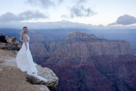 Sunrise portrait Grand Canyon