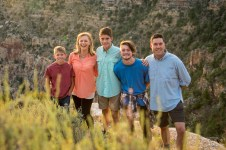 Grand Canyon National Park family photo