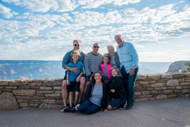 extended family photo taken by El Tovar