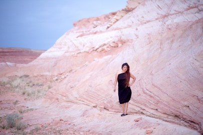 red rock scenery in Page Arizona