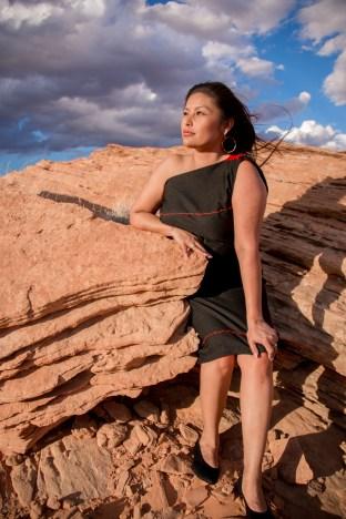 Native American Hopi Navajo Portrait Grand Canyon