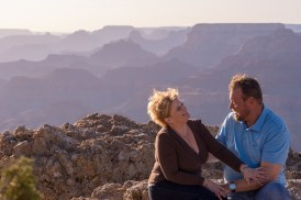 Grand Canyon Engagement Photo