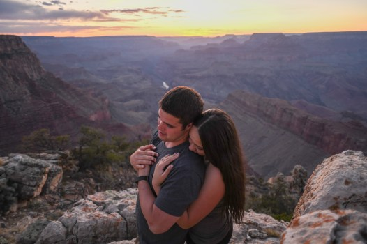 4.26.18 MR Grand Canyon Engagement Blake and Aundrea Photography by Terri Attridge-30