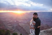 4.27.18 Elopement at Lipan Point Grand Canyon South Rim Photography by Terri Attridge-107