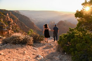 6.12.18 LR Engagement at Grand Canyon South Rim photography by Terri Attridge-100