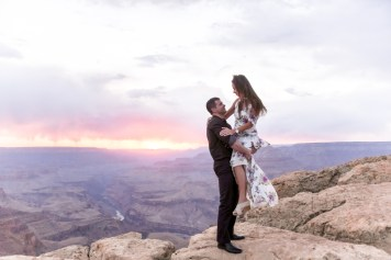 4.27.18 Elopement at Lipan Point Grand Canyon South Rim Photography by Terri Attridge-36