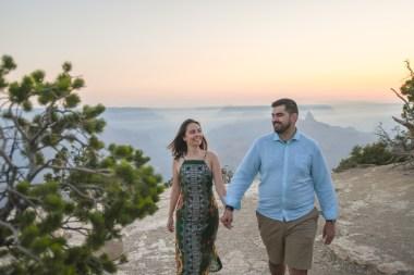 Grand Canyon Engagement Portraits Mario