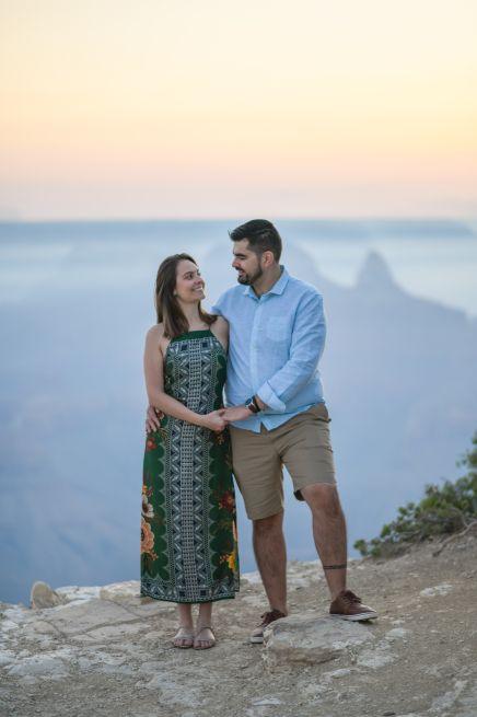Grand Canyon Engagement Portraits