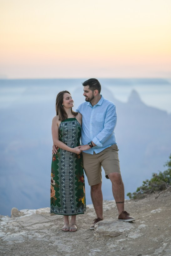 Grand Canyon Engagement Portraits