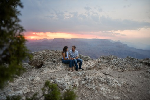 in love at Grand Canyon