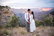 7.27.17 LARGE Kathleen and Gabriel Yavapai Point and Duck on a Rock Rock Grand Canyon South Rim Monsoon Season photography by Terri Attridge-102