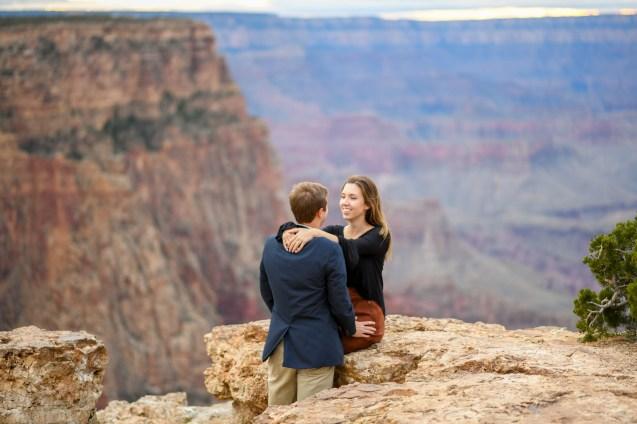Engagement Proposal at Grand Canyon