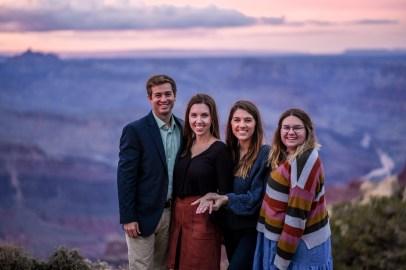 Group photo Grand Canyon