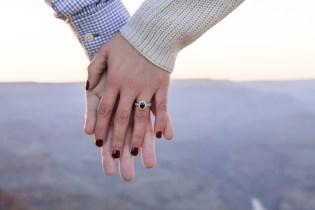 Grand Canyon Engagement Proposal Photographer