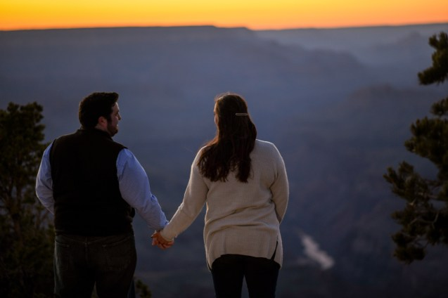 11.10.18 MR Engagement Photos at Grand Canyon photography by Terri Attridge-7