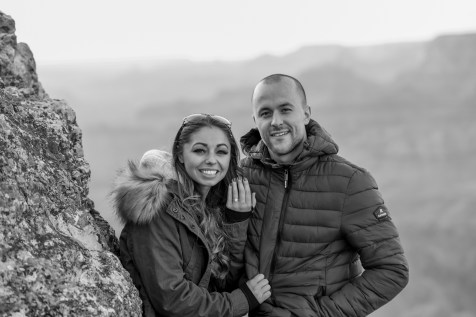 11.17.18 MR Grand Canyon Sunset Surprise Engagement Couples Photos photography by Terri Attridge-107