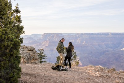 11.17.18 MR Grand Canyon Sunset Surprise Engagement Couples Photos photography by Terri Attridge-212