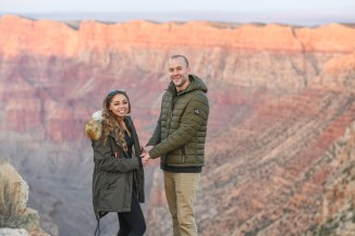 11.17.18 MR Grand Canyon Sunset Surprise Engagement Couples Photos photography by Terri Attridge-83