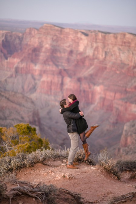 11.6.18 M MR Lauren and Andrew Grand Canyon Engagement photography by Terri Attridge-27