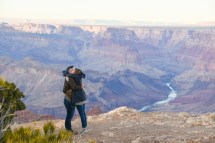 12.21.18 LR Sunset Engagement Proposal Lipan Point Tom and Megan photography by Terri Attridge-197
