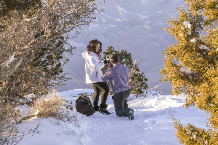 1.2.19 MR Surprise Engagement Photos Kevin and Vanessa Grand Canyon photography by Terri Attridge-234