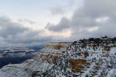 2.23.19 MR Grand Canyon Villiage in snow photography by Terri Attridge-16