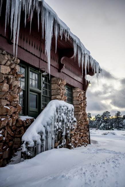 2.23.19 MR Grand Canyon Villiage in snow photography by Terri Attridge-2