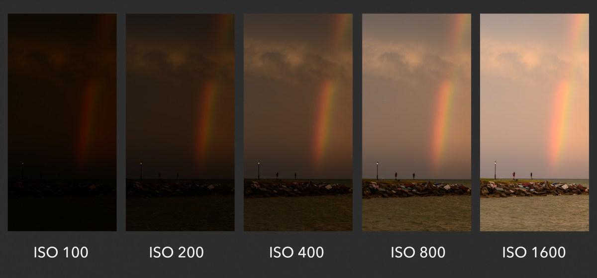 camera ISO tutorial example