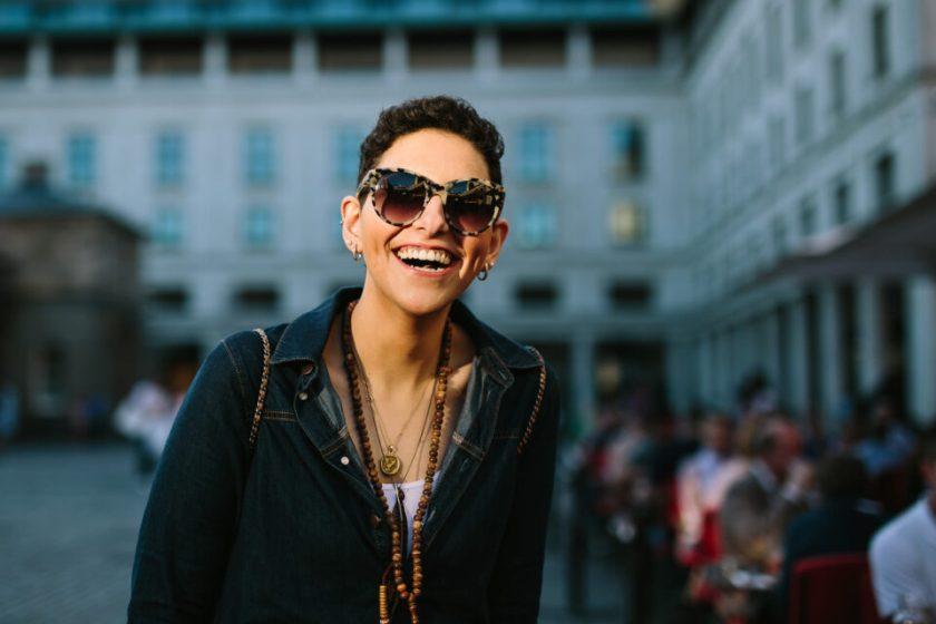 Portrait of an Arab woman, captured with Canon 6D DSLR