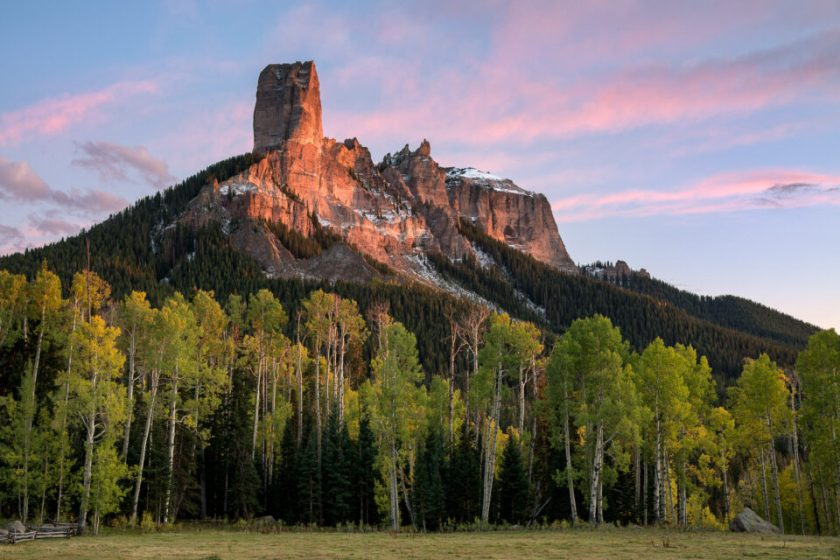 Chimney Rock Colorado. Captured with Nikon D850 DSLR