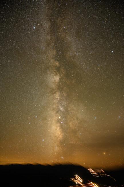 Blurred Foreground Star Tracker