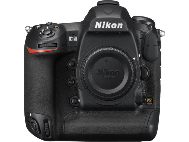 Nikon's flagship sports and wildlife DSLR is the D5, one of the fastest and toughest cameras on the market.