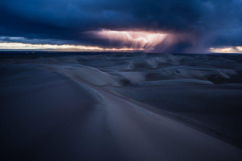 Nikon Z7 Sample Photo of Lightning