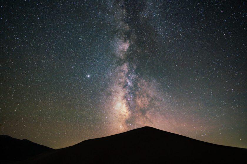 Sample Milky Way landscape photo
