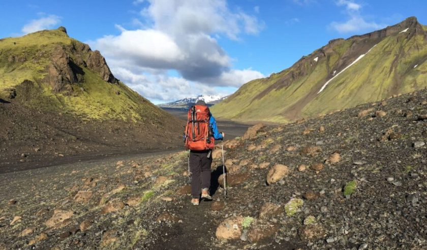 Backpacking the Laugavegur in Iceland with the Gregory Baltoro 65