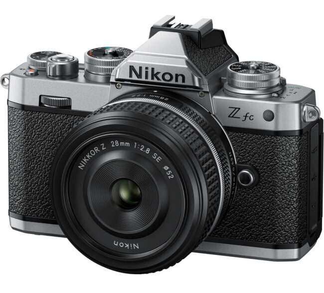 Nikon Zfc Angled Front View