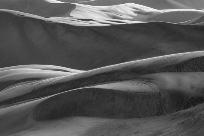 2018 Great Sand Dunes Black and White