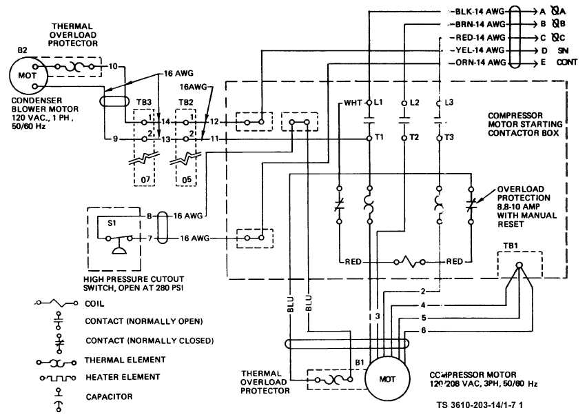 TM 10 3610 203 14_18_1 central air conditioning schematic diagram efcaviation com central air conditioner wiring diagram at bakdesigns.co