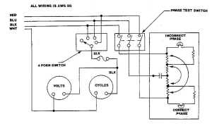 FO2 Phase Monitor Meter Wiring Diagram