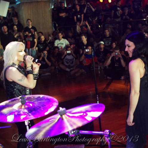 Christina and Doro All Star Jam