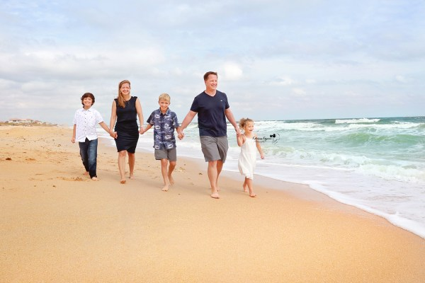 Family photography sessions and beach portraits