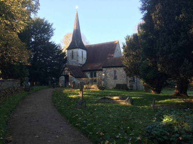 1000 year old Chaldon Church